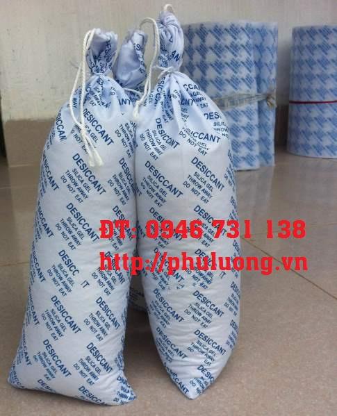 Túi chống ẩm Silica gel vải